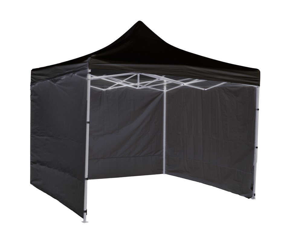 3x3m Popup Gazebo Party Tent Marquee Black