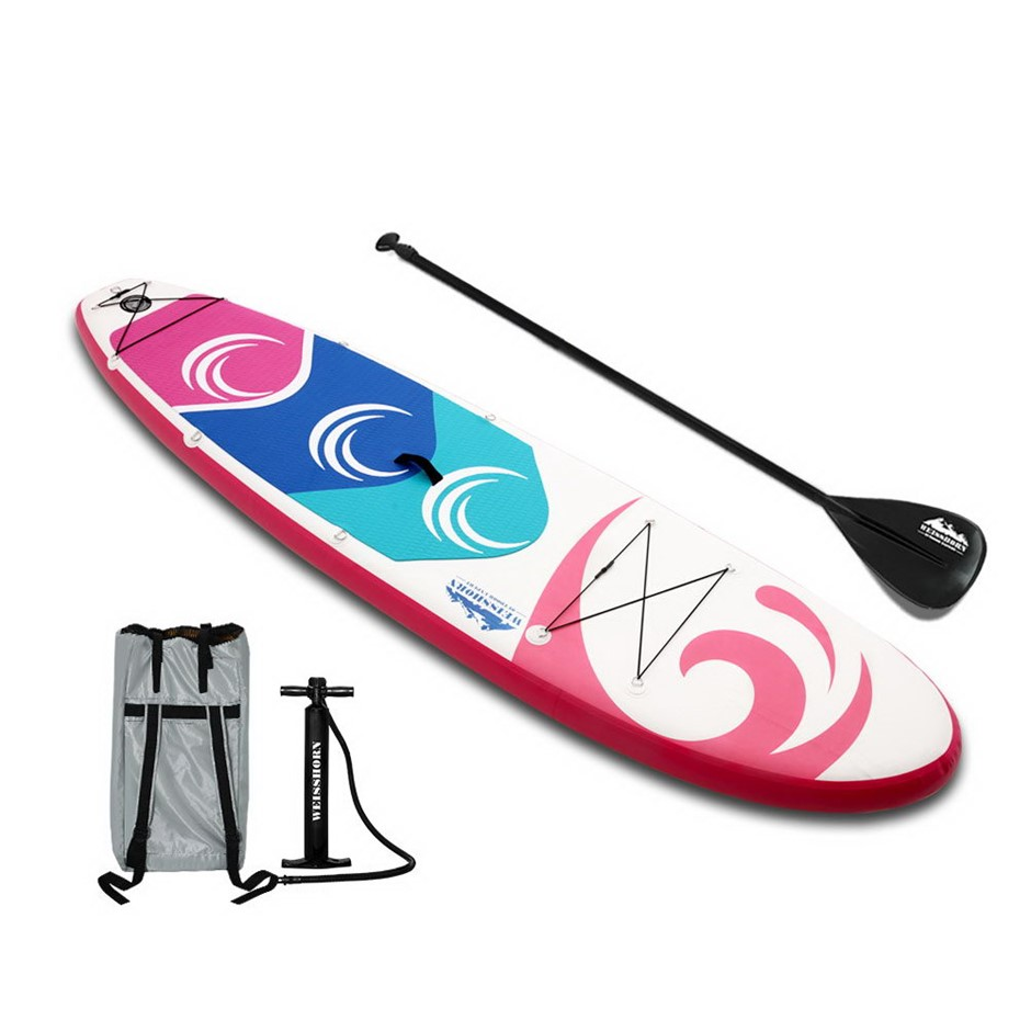 Weisshorn 10FT Stand Up Wide Paddle Board - Blue