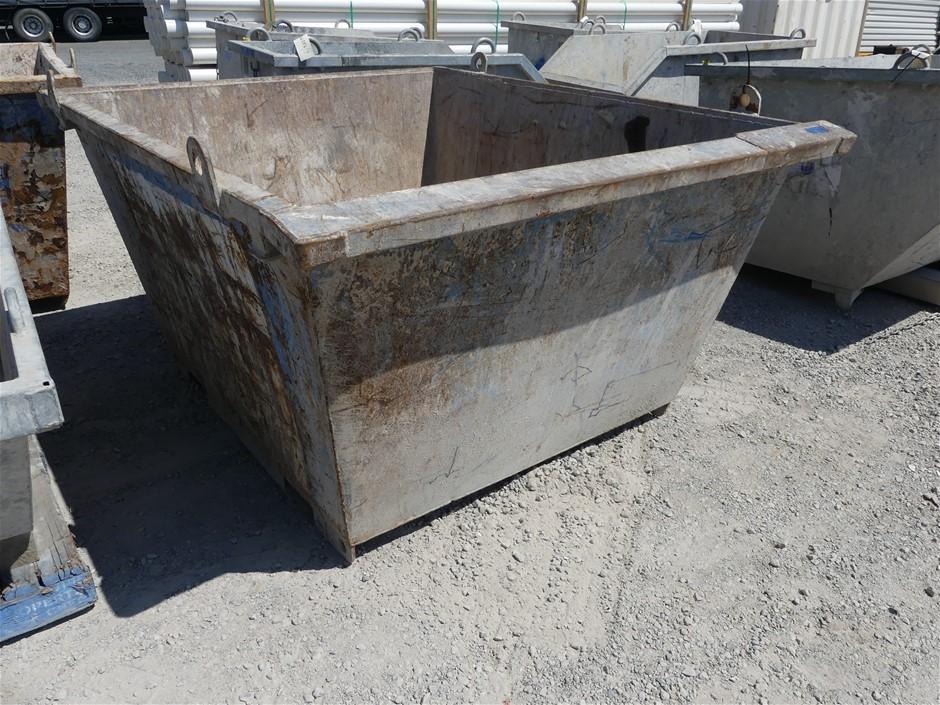 Steel Self Dumping Bin Approx. Length (mm): 1650 Appr