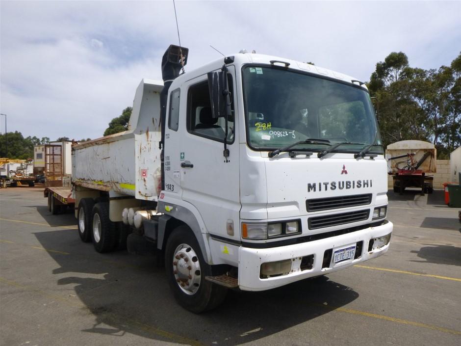 2003 Mitsubishi FV500 6x4 Tipper Truck