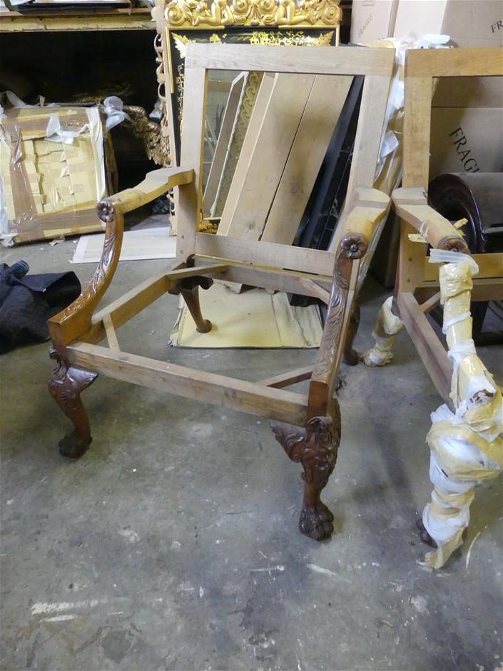 Qty 7 x Armchair Frames