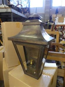 Qty 2 x Code 58 Bronze Light Fitting