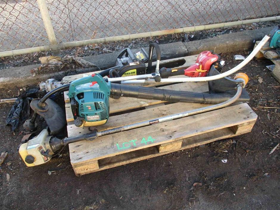 1 x Pallet of Assorted Garden Power Tools