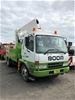 2007 Mitsubishi Fighter FK61FH 4x2 Travel Tower Truck