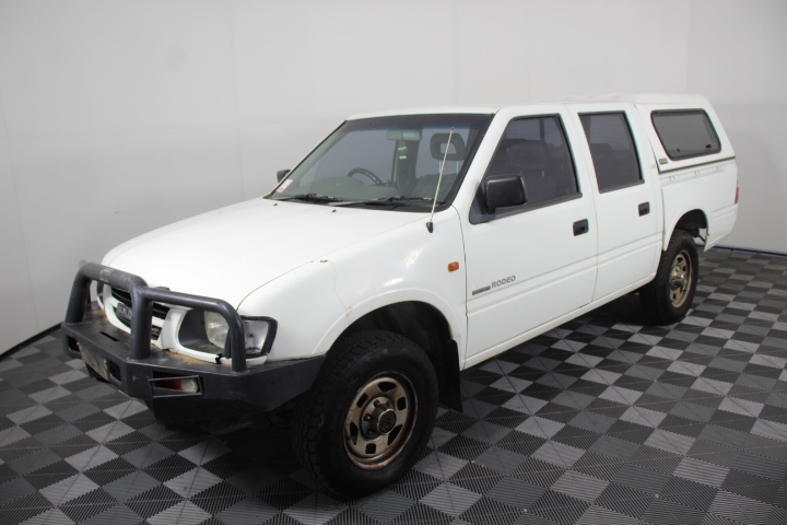 1999 Holden Rodeo LX (4x4) Dual Cab