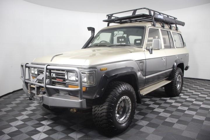 1988 Toyota Landcruiser Sahara HJ61 Turbo Diesel Automatic