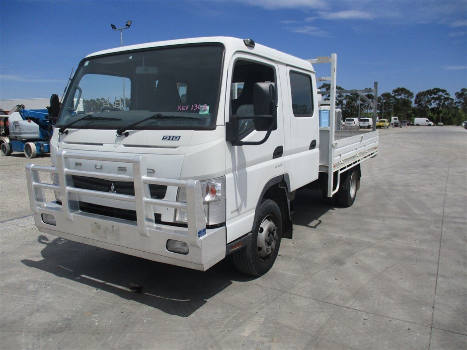 2012 Mitsubishi Canter 7/800 Cab Chassis Truck