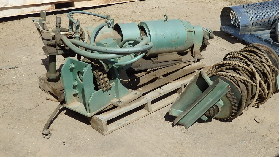 Electric Over Hydraulic Winch Assembly