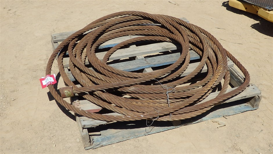 Pallet Containing 30mm Steel Cable