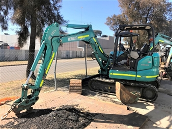 Kobelco SK45SRX-6 Hydraulic Excavator (Tracked)