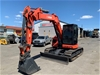 2013 ECM 9.5 UR Knuckle Boom Hydraulic Excavator (Yanmar)