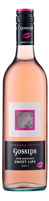 Gossips Pink Moscato 2019 (6x750mL). SA.