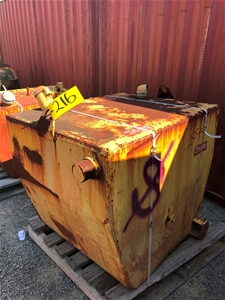 Caterpillar 777b 4yc00715 Fuel Tank Y246