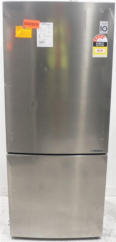 LG GB-450UPLX 450L Bottom Mount Fridge