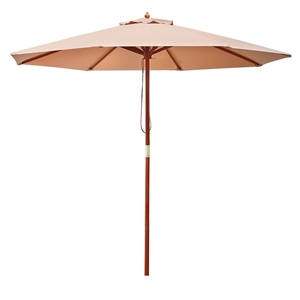 Instahut 2.7M Outdoor Pole Umbrella Cant