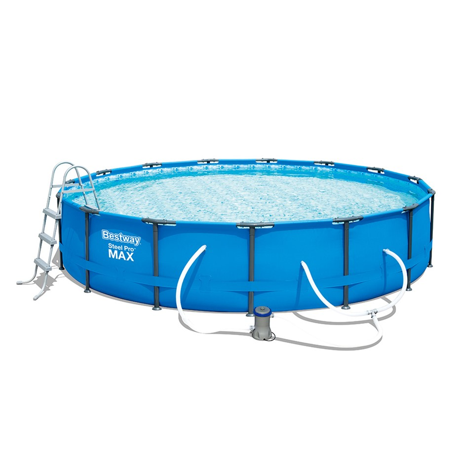 Bestway Above Ground Swimming Pool Steel Pro™ Frame Filter Pump 15ft