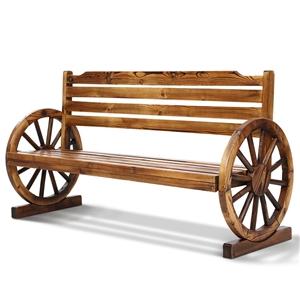 Gardeon Garden Bench Wooden Wagon Chair