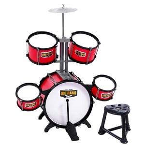 Keezi Kids 7 Drum Set Junior Drums Kit M