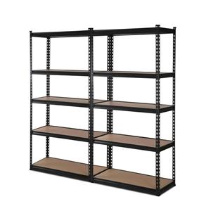 2x0.9M 5-Shelves Steel Warehouse Shelvin