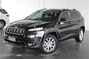 2015 Jeep Cherokee LIMITED 4X4 KL 9 auto