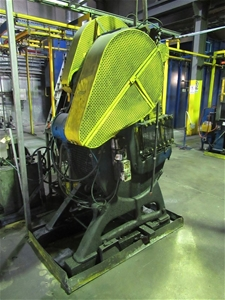 John Heine 206 AG Incline C-Frame Press