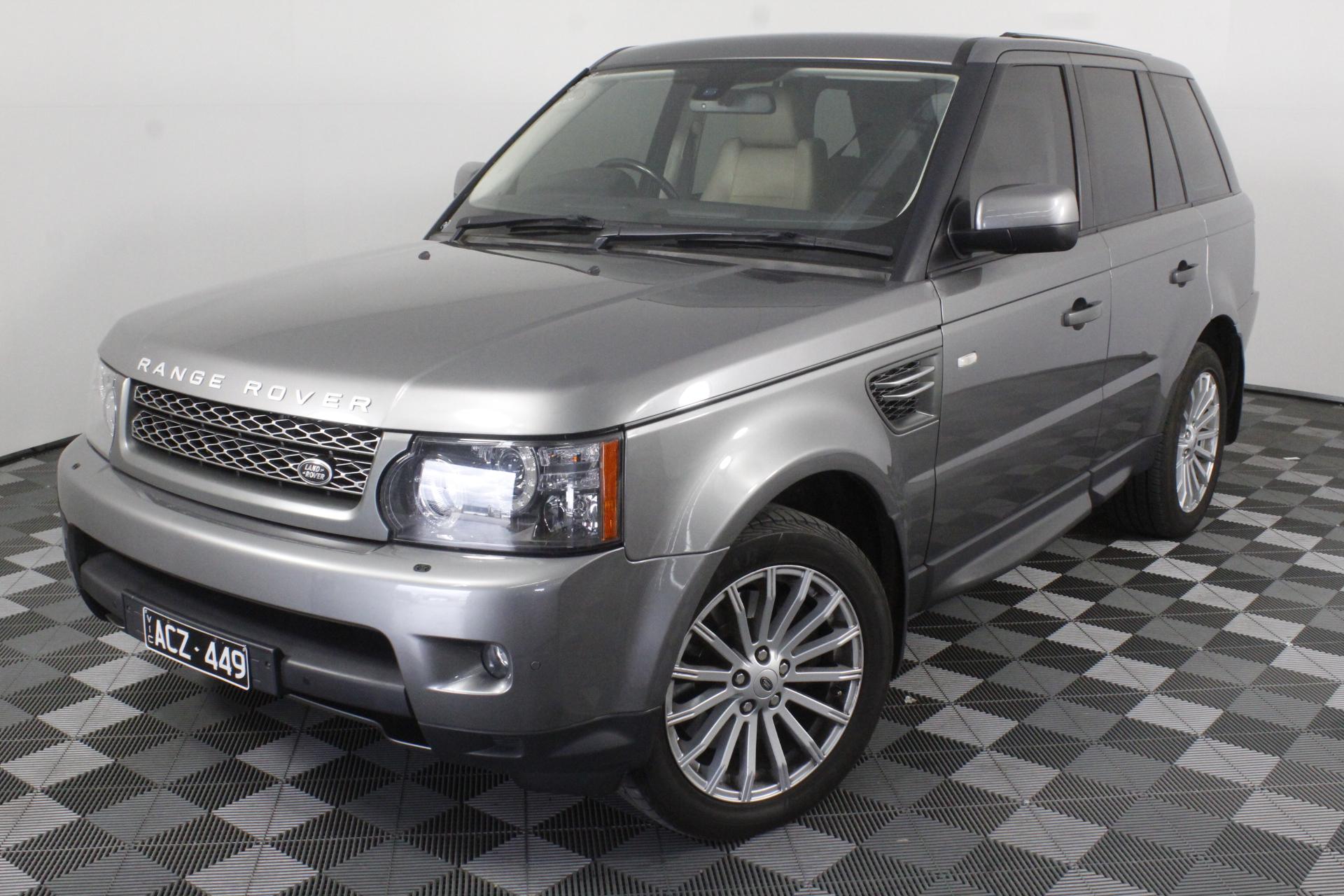2010 Land Rover Range Rover Sport 3.0 TDV6 Turbo Diesel Automatic Wagon