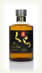 Kura White Oak Japanese Single Malt 12 Years Old (1x700mL). Japan
