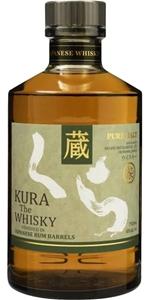Kura Malt Rum Cask Finish (1x700mL). Jap