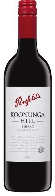 Penfolds `Koonunga Hill` Shiraz 2018 (6 x 750mL),SA.