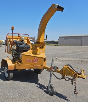 2011 Rayco RC6D-V 6`` Trailer Mounted Chipper