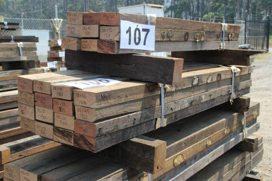 Pack of 16 Mixed Australian Recycled Timber Hard Wood