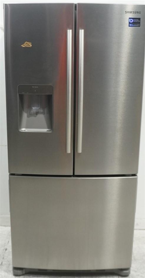 Samsung SRF533DLS - 533L Stainless Steel French Door Refrigerator