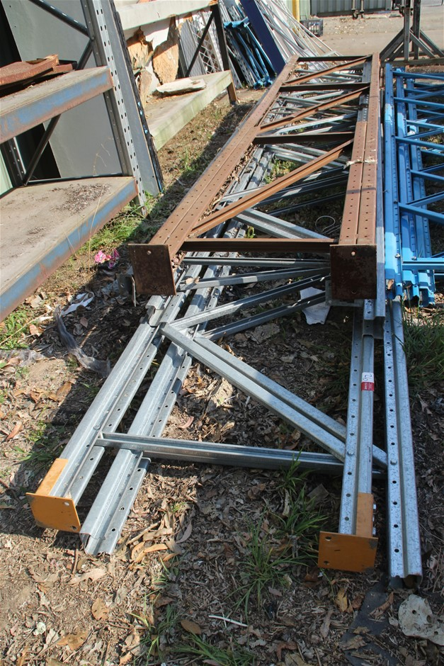 Colby Pallet Racking Components Includes 5 x Assorted End Frame