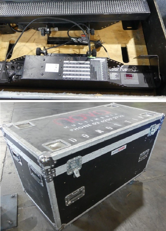 Road Case With 8 x IP65LEDBAR Outdoor LED BAR ICF-801 D125