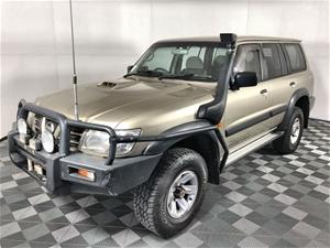 2002 Nissan Patrol ST (4x4) GU II Turbo