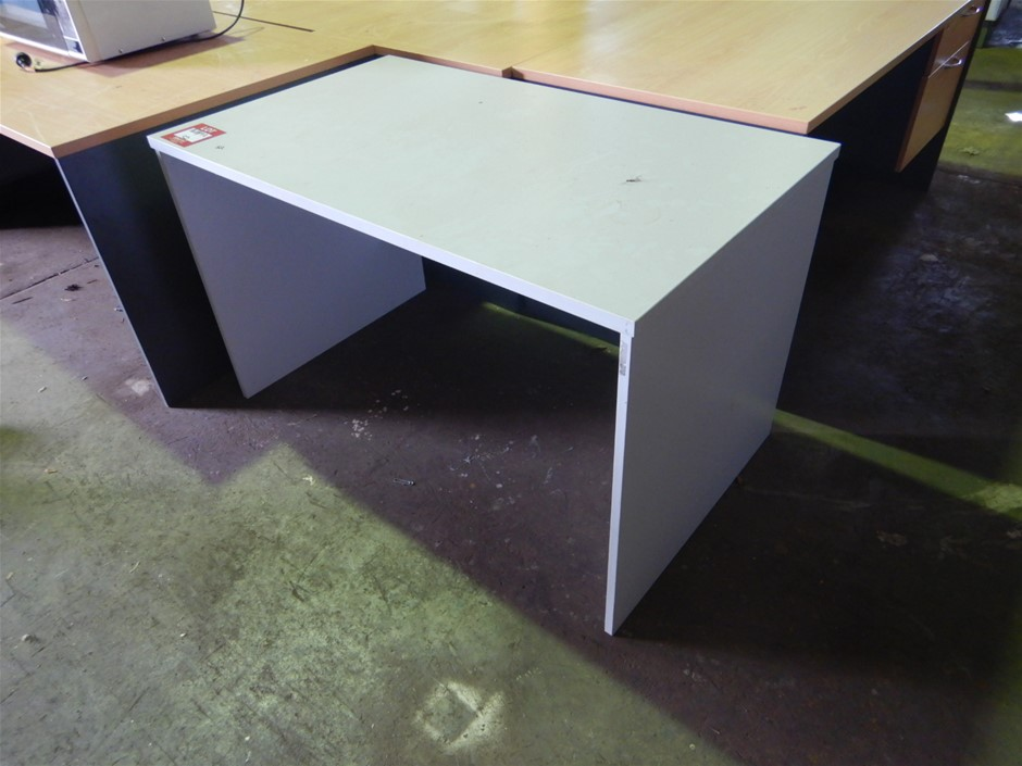 Small Office Desk, timber fabrication
