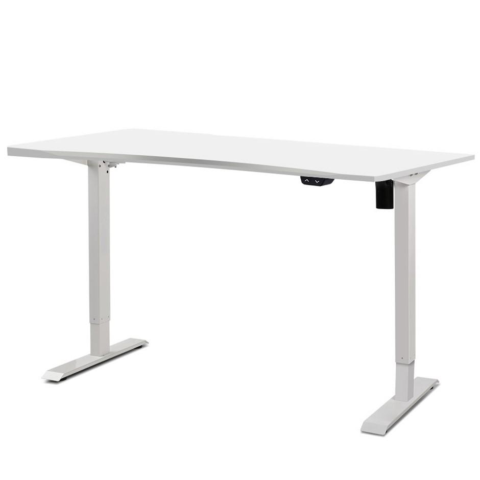 Artiss Height Adjustable Standing Desk Riser Electric Motorised Table