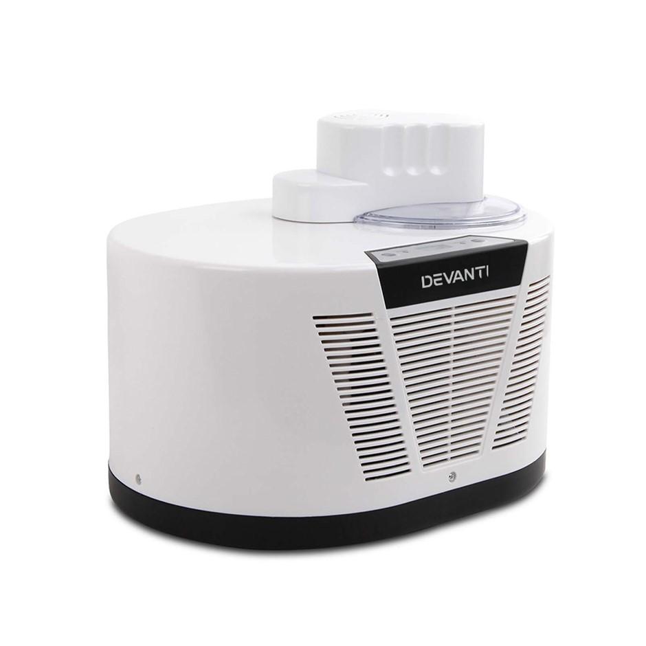Glacio Ice Cream Maker with Built in Compressor