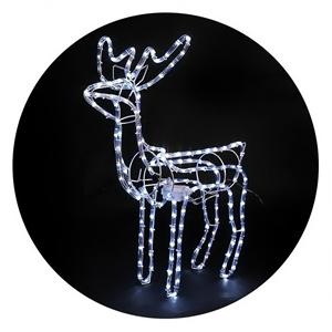 Jingle Jollys Christmas Reindeer LED Mot