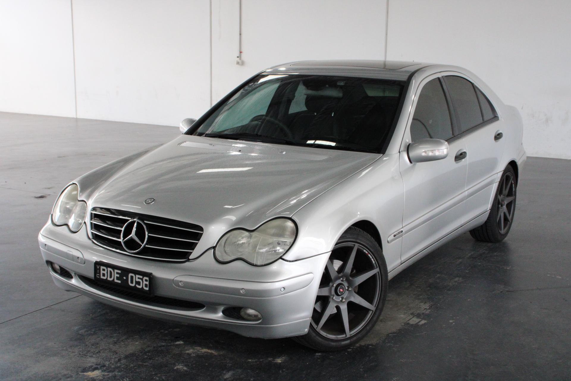 2003 Mercedes Benz C200 Elegance W203 Automatic Sedan