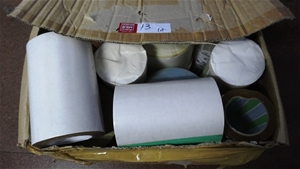 A box mix lable & 8 Heavy Duty Tape (15C