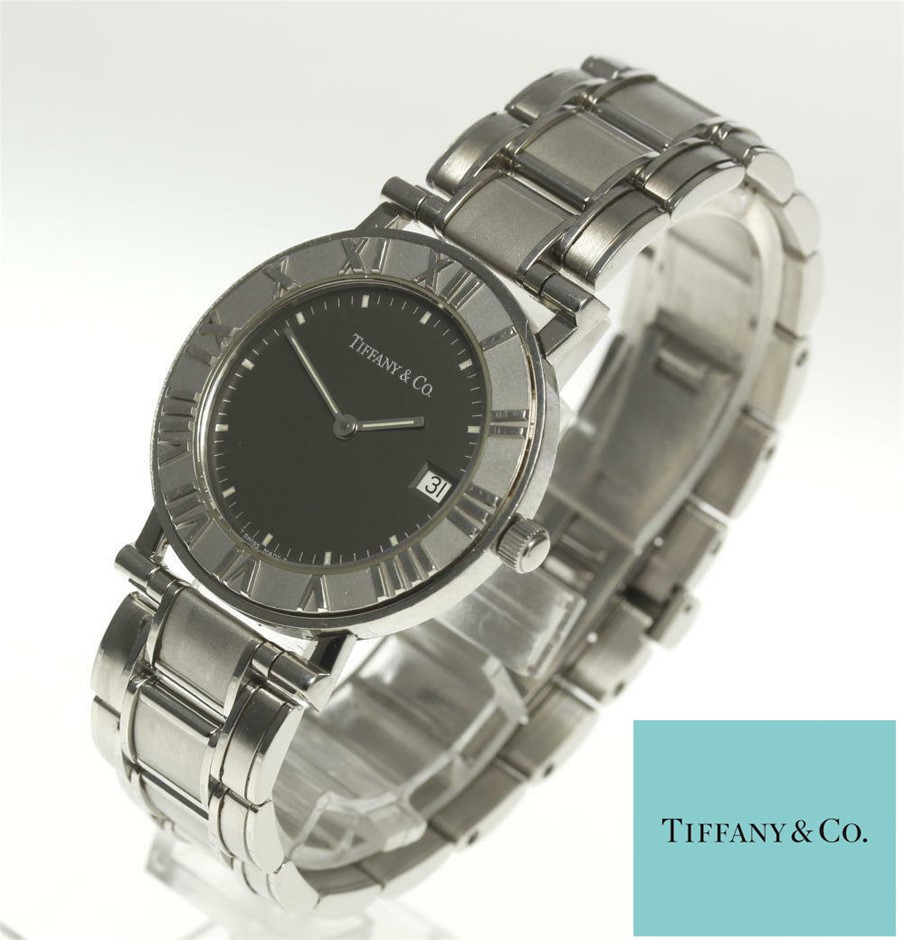 Ladies analogue Tiffany & Co Atlas water resistant watch