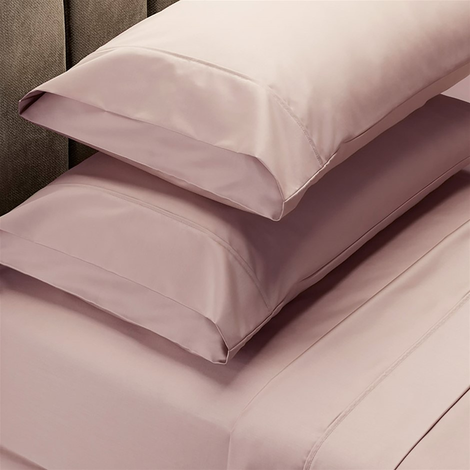 Royal Comfort 1000 TC Cotton Blend Sheet sets Queen Blush