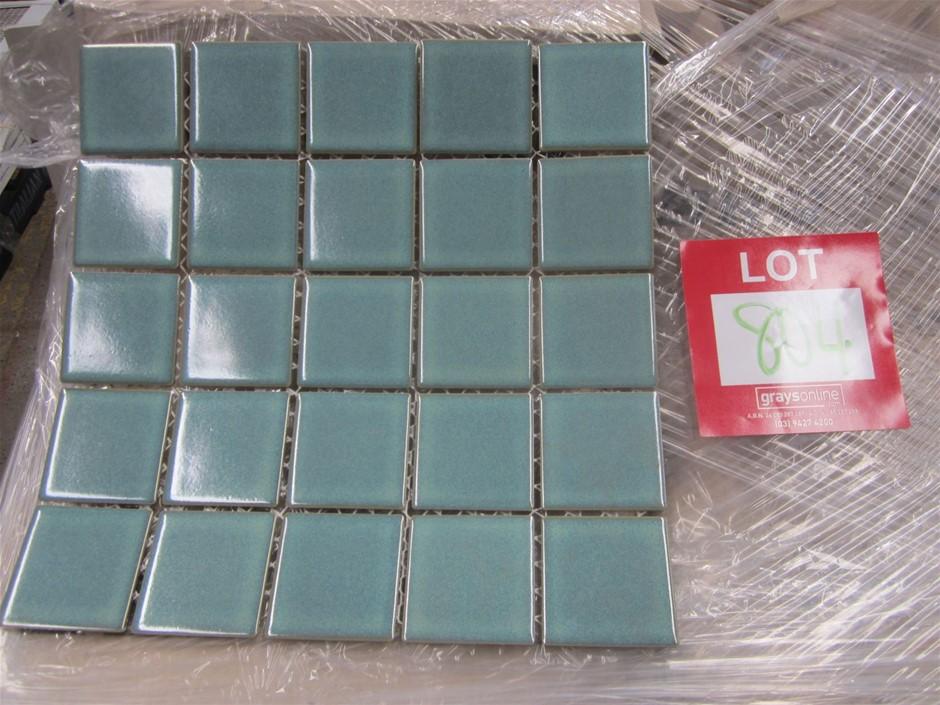 Cotto Premium Mosaic Tiles. 575mm x 575mm x 0.5mm per sheet.