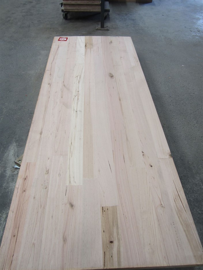 1 x unit Victorian Ash Benchtop. 2400mm x 900mm x 33mm thick