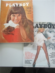 16 units of Vintage Playboy magazines.