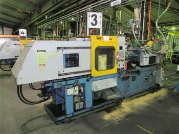 1999 Topfine 80CE Injection Molder