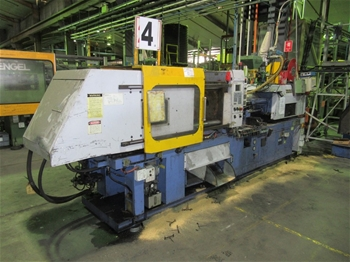 2001 Topfine 125 CE Injection Molder