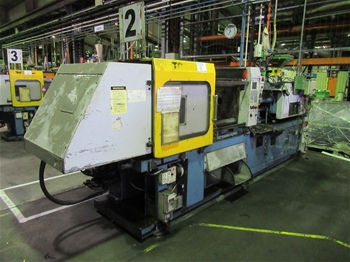 1999 Topfine 125 CE Injection Molder