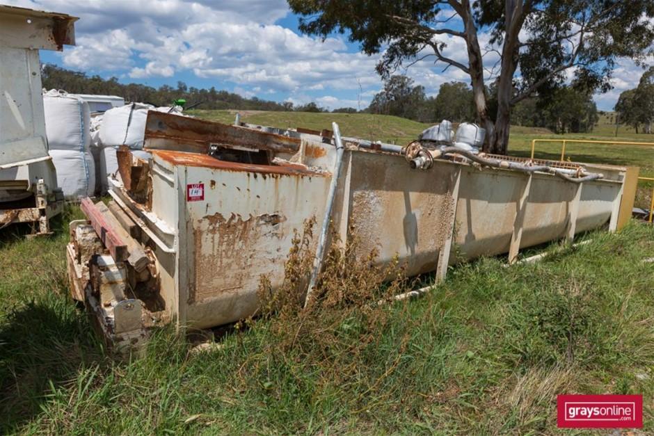 Skid Mounted JZQ 500 Log Washer